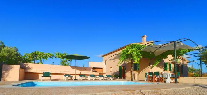 Sa Torreta, wifi free, private pool