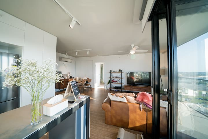 Bowenhill mountain view ins-style apartment