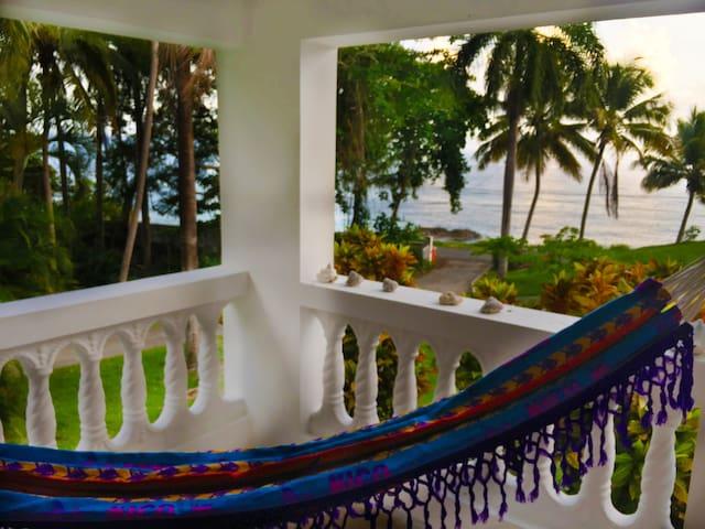 Oceanfront Casa Blanca 1st Floor Suite - Rincon - Apartment