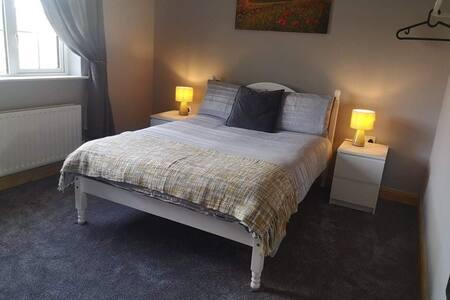 Double bedroom in the Irish Midlands