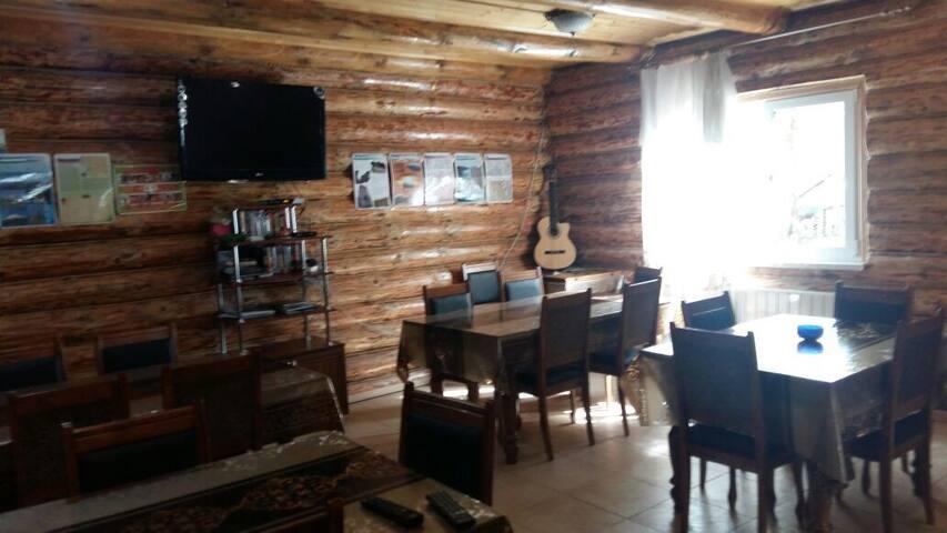 Гостевой Дом Мишка в лесу SkiPoint номер Блок