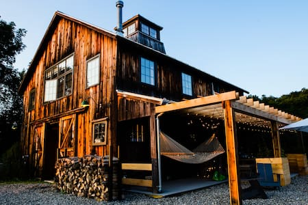 Rustic Barn in Dutchess County - Millbrook - Hus