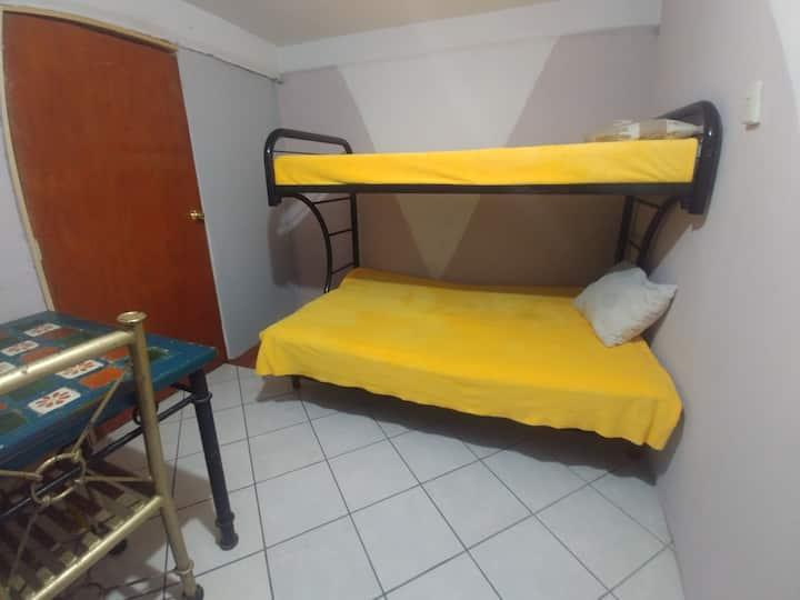 Dormitorio para familias pequeñas