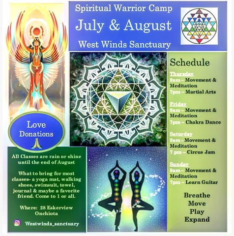 Westwinds Sanctuary for the Spirit.