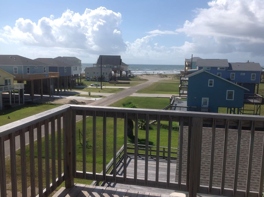 Beach View-Second Floor Porch
