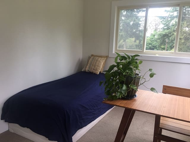 Bedroom in historic apartment 2 min from ferry!
