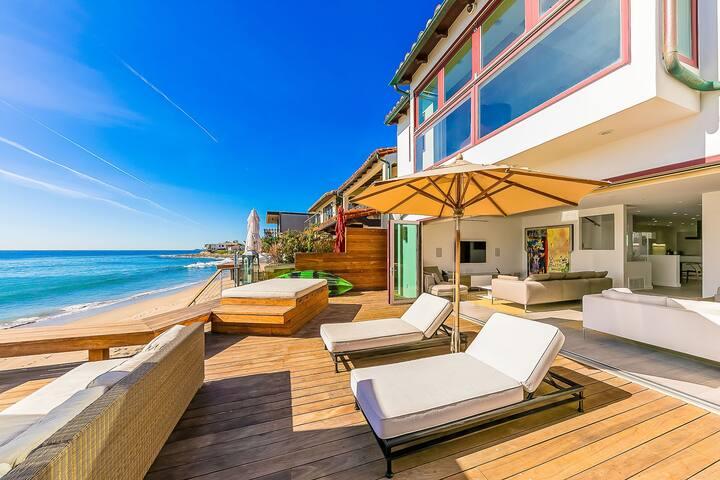 Deluxe Malibu Villa On La Costa Beach