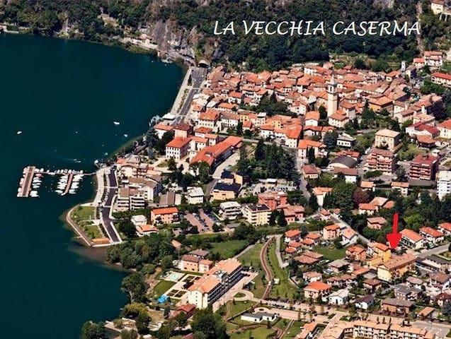 LA VECCHIA CASERMA appartamento con giardino - Porlezza - Wohnung