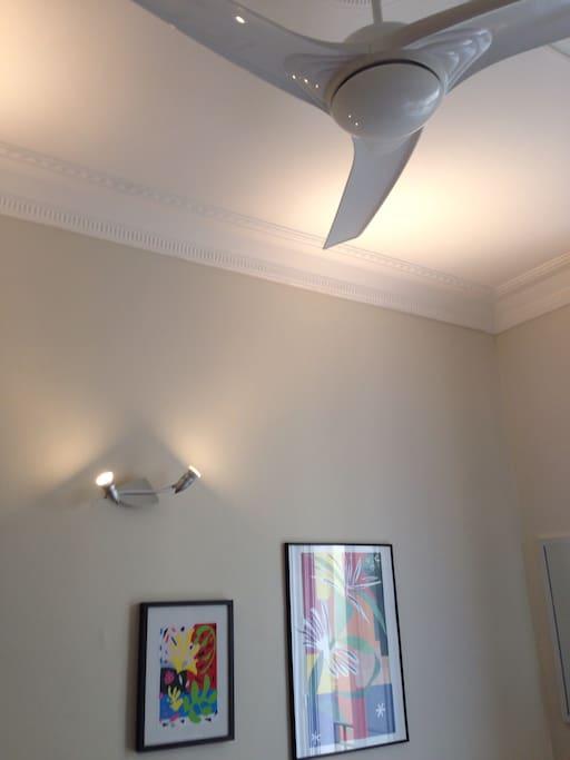 Ventilateur silencieux en cas de forte chaleur
