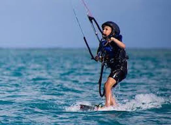 Kite Surfers Oasis