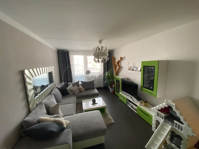 Krásný apartmán u řeky Rožnov