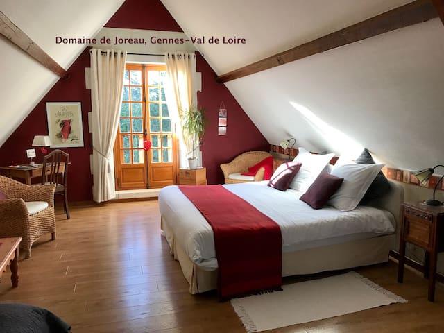 Chambre d'hôtes de charme - calme & confort