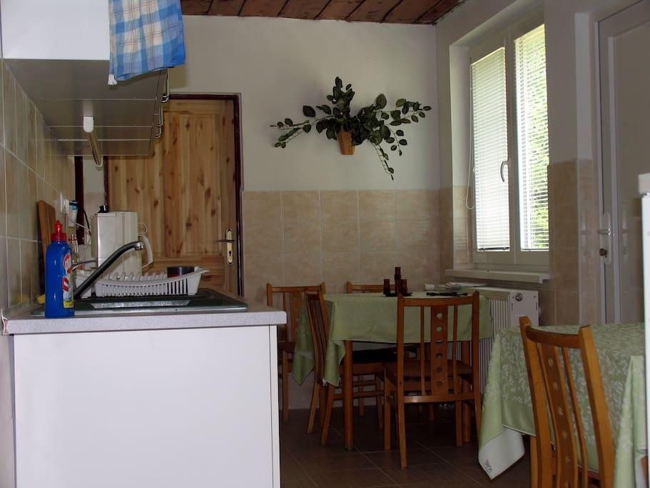 Upstairs Kitchenette