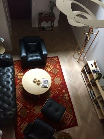 Cómoda y relajante habitación en la Roma