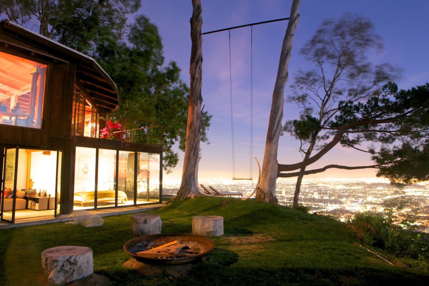 tree house with 360 views of l a houses for rent in los angeles