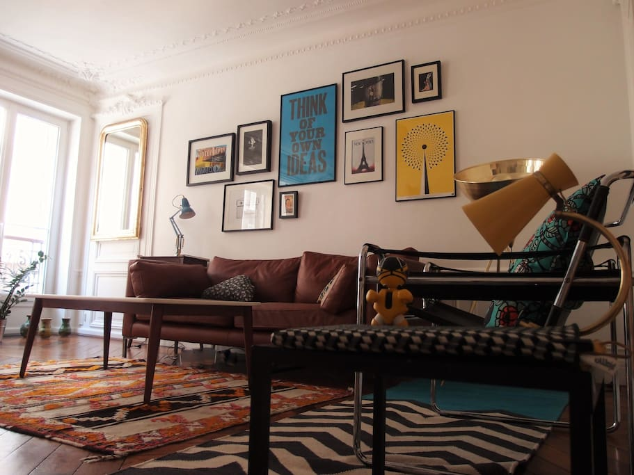 Living room - view from the corridor