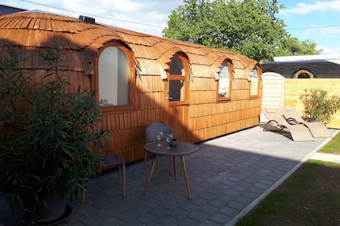 Tinyhouse Zollernalb with private sauna