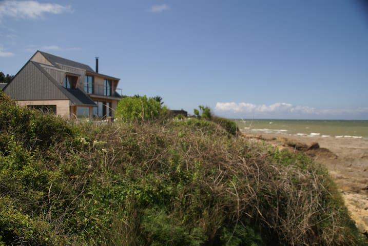 TiCap, Quimiac, 2 maisons indépendantes face mer