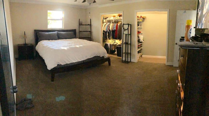 Southside Area Master Bedroom