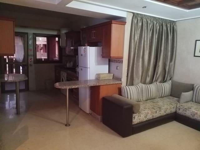 Appartement 92 m2 bien équipé au centre ville