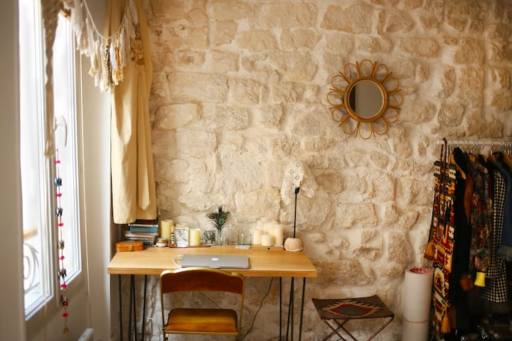 Cosy Atypical Studio in Le Marais - Paris - Leilighet