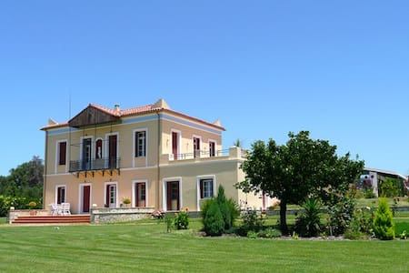 Luxurious Mansion with pool and vast gardens - Αγία Μαρίνα - Willa