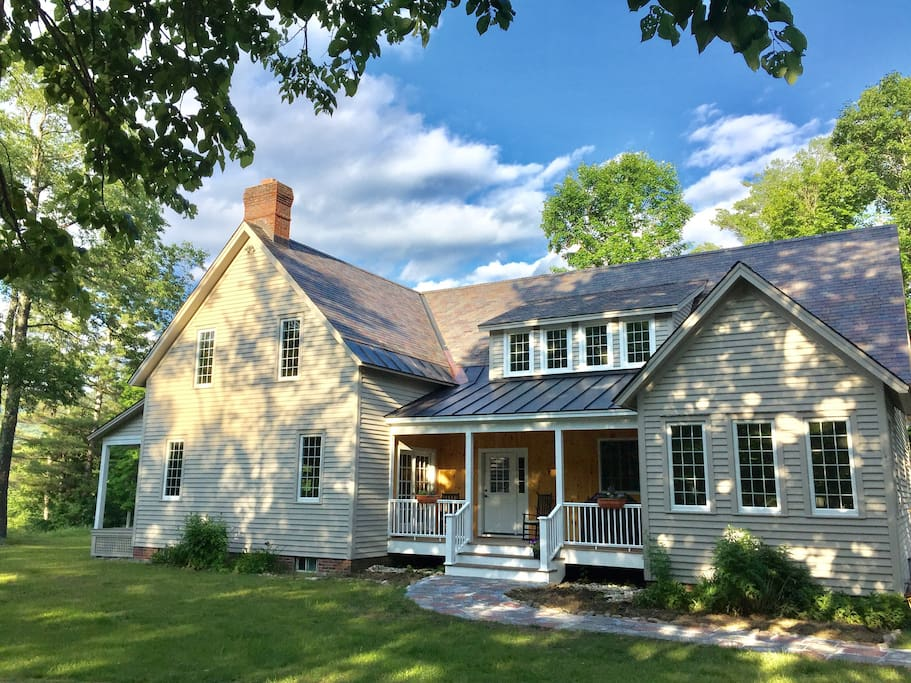 Beautiful VT Country Home, situated on 5 very private acres