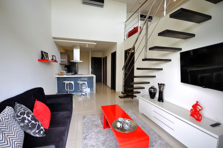 Charming loft with wonderful  panoramic! B308