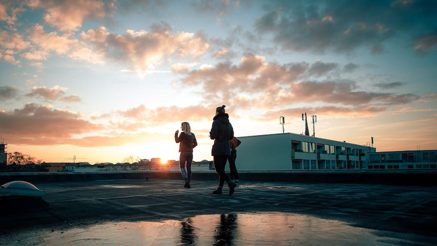 Relax & Sunshine Oasis - Im Herzen des Stadtlebens