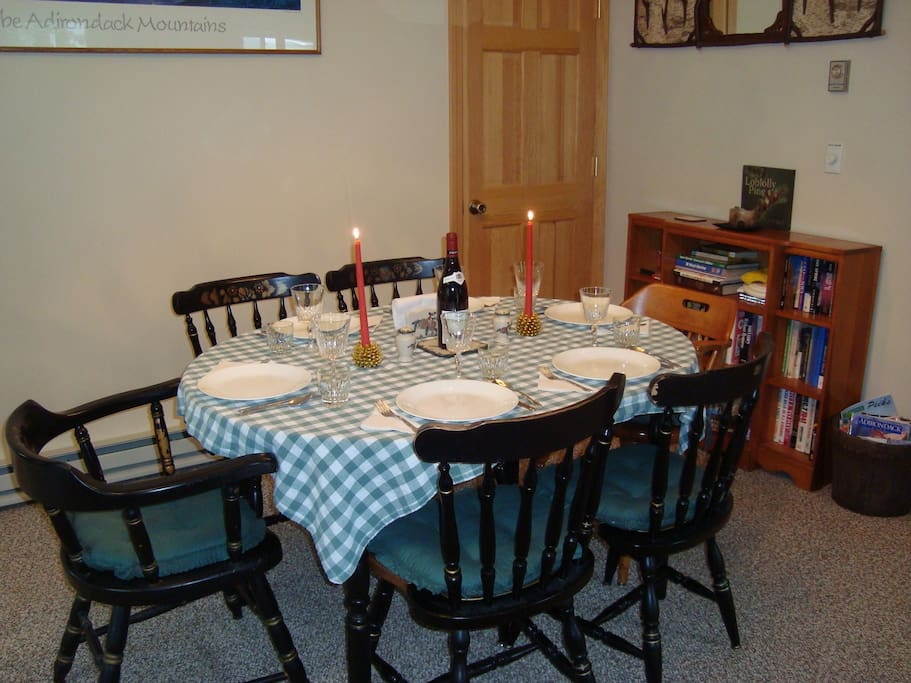 ENJOY MEALS IN YOUR DINING AREA (byob)