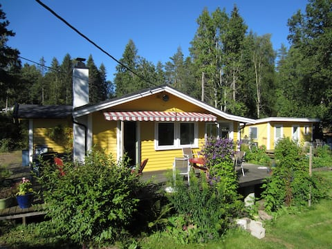 Peaceful cottage 30 minutes from Oslo