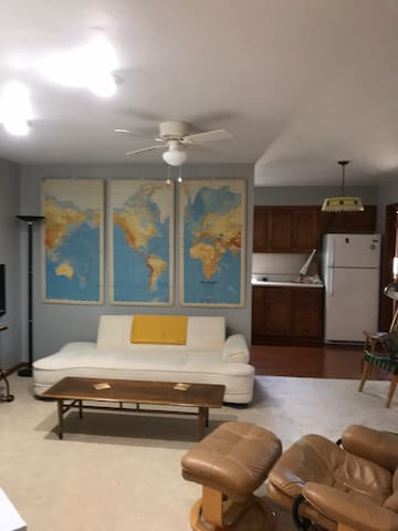 Fully furnished secure apartment