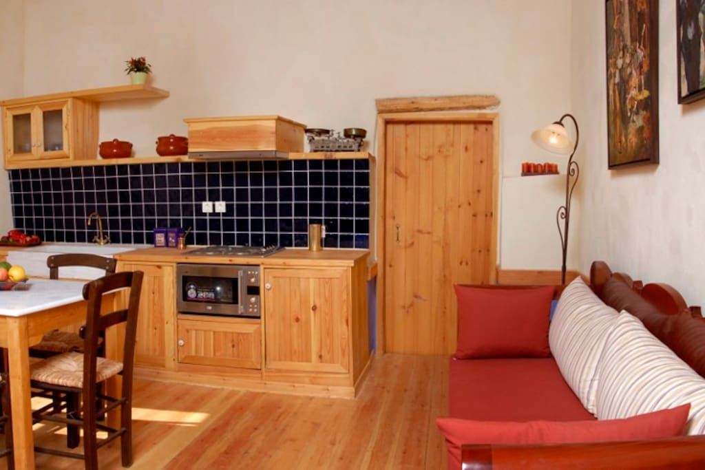"Room ""Classic"" - sitting room/kitchen"