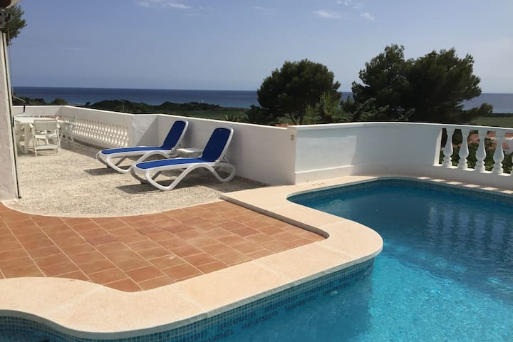 Villa Es Refugi, private pool fabulous sea views