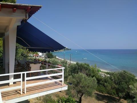 Panoramic View of the Aegean Sea