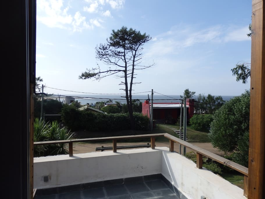 Great panoramic view from the front terrace.