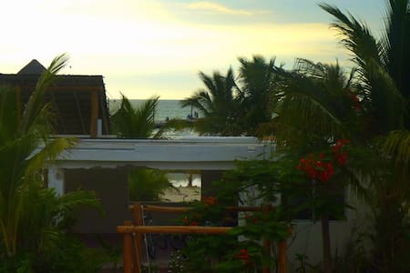 Habitaciones frente al Mar.. - Holbox - Appartement