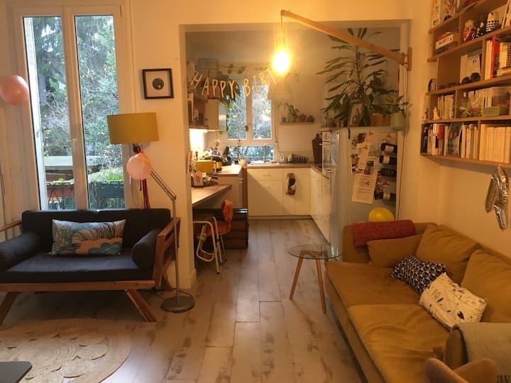 Maison 4 pièces avec jardin proche Paris Villette