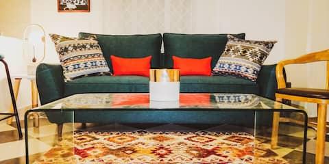 Inka Emerald - luxe, cozy & convenience
