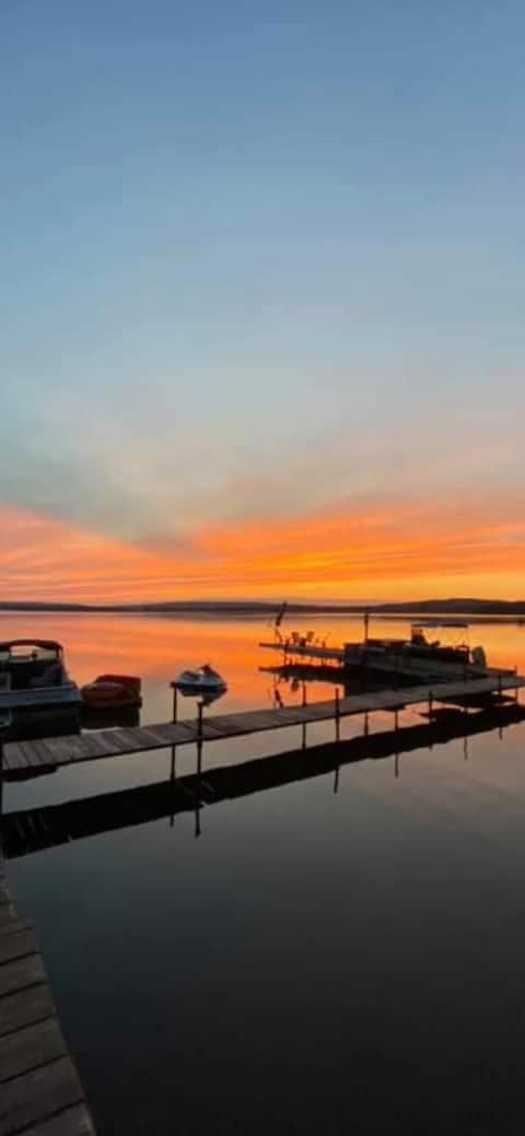 Chalet, SPA au lac Maskinongé
