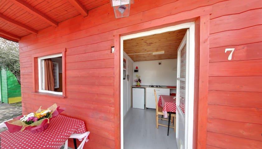 Bungalow 1 Chambre avec Salle de Bains Commune