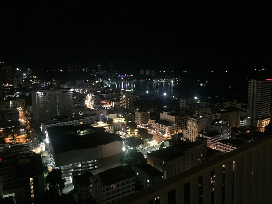 Night view from bedroom