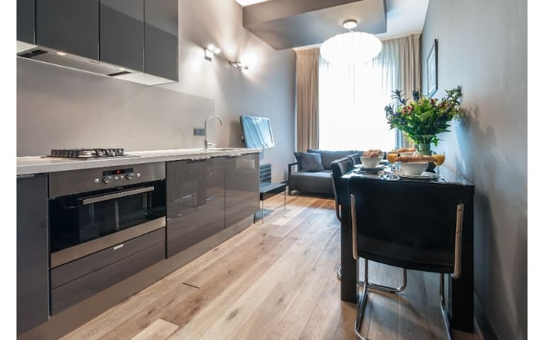 Modern and Stylish 1 Bedroom Apartment in Central Amsterdam