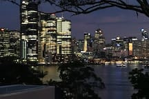 Amazing views of Barangaroo and Darling Harbour. View Saturday night's fireworks display from the deck.
