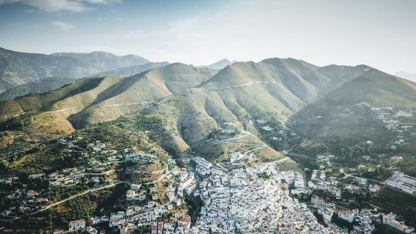 Competa from a drone - wow!