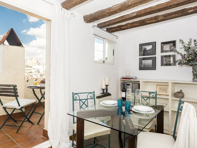 PENTHOUSE PLAZA MAYOR **Bohème Apartment**