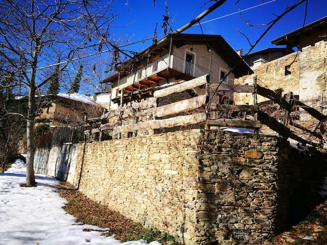La baita in Valle Maira