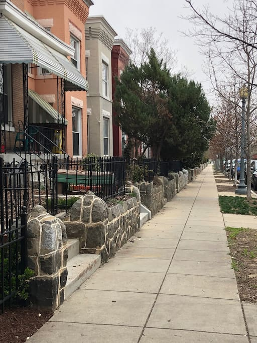 Family friendly residential street
