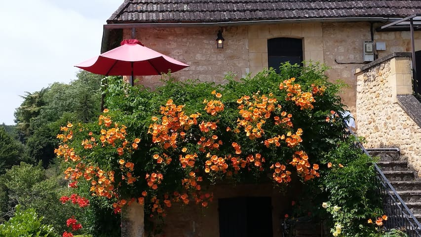 Wonderfully sunny house in a historic village - Castelnaud-la-Chapelle - Leilighet