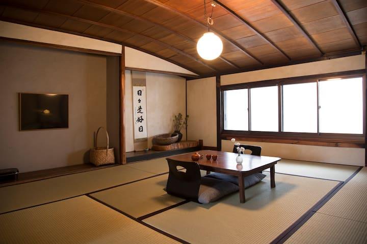 道草 整栋京都町屋出租,自助式住宿 。交通方便,装修很干净。